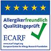 Allergikerfreundlicher Betrieb Siegel